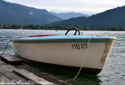 tegernsee boot