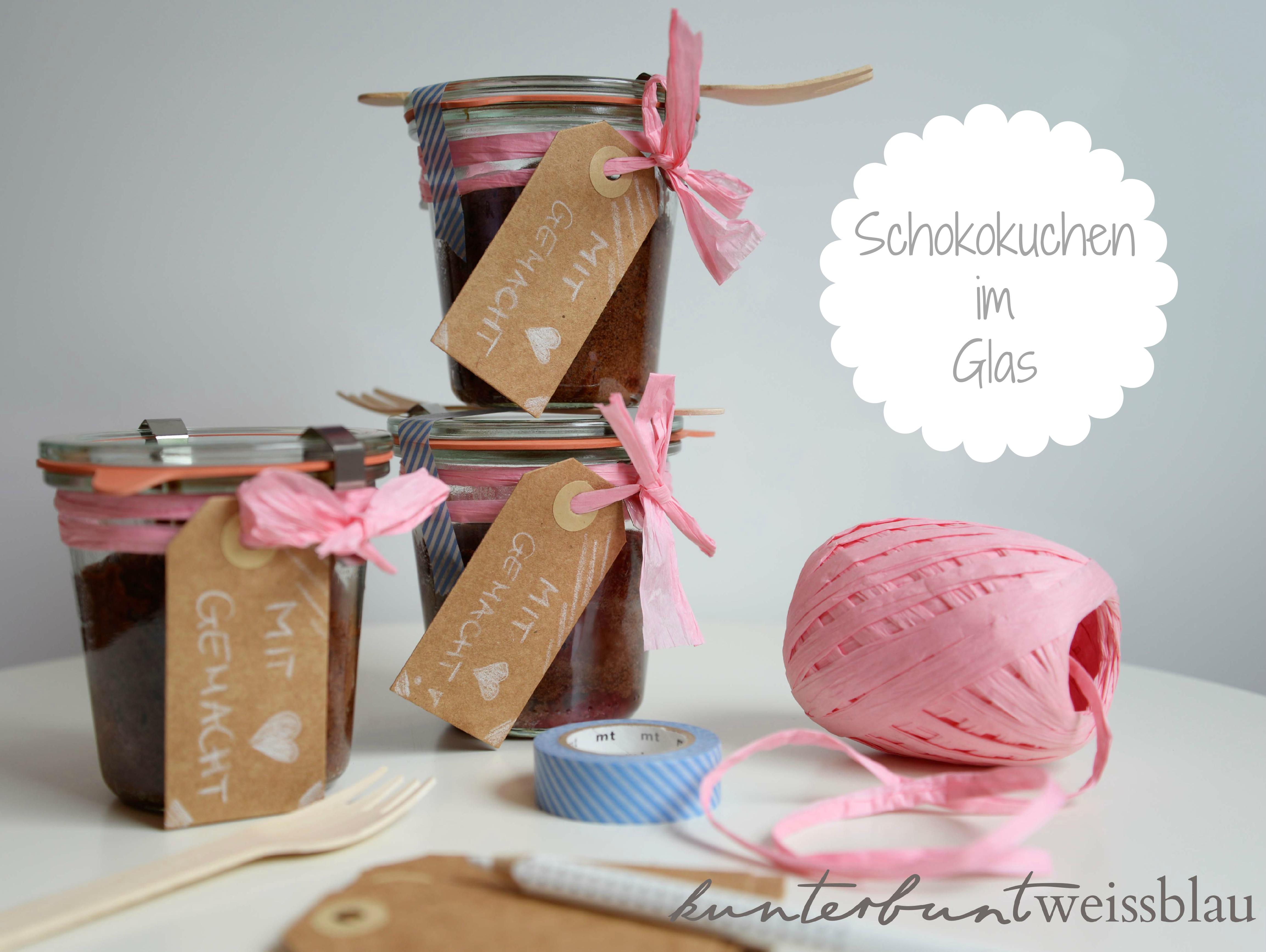Kuchen Im Glas Schokolade Himbeeren Rhabarber
