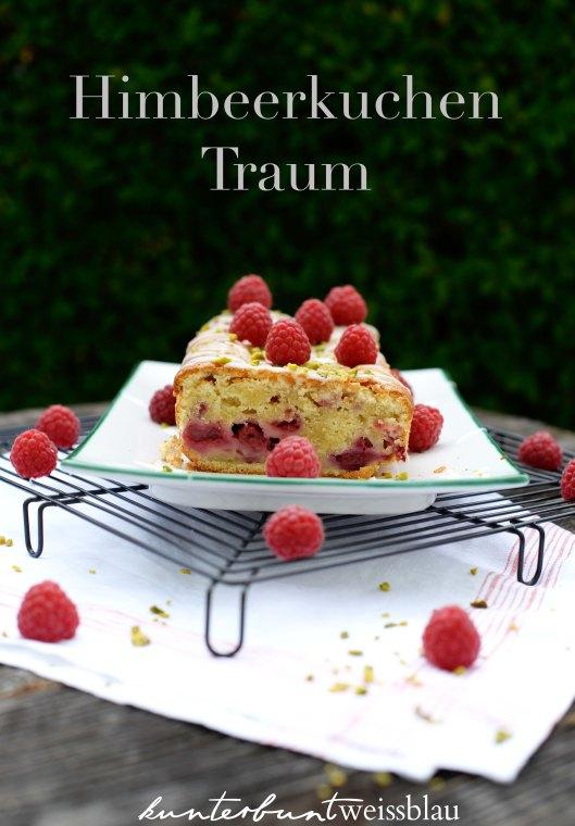 Im Sommerkuchen Himmel - Himbeer-Crème Fraîche Kuchen