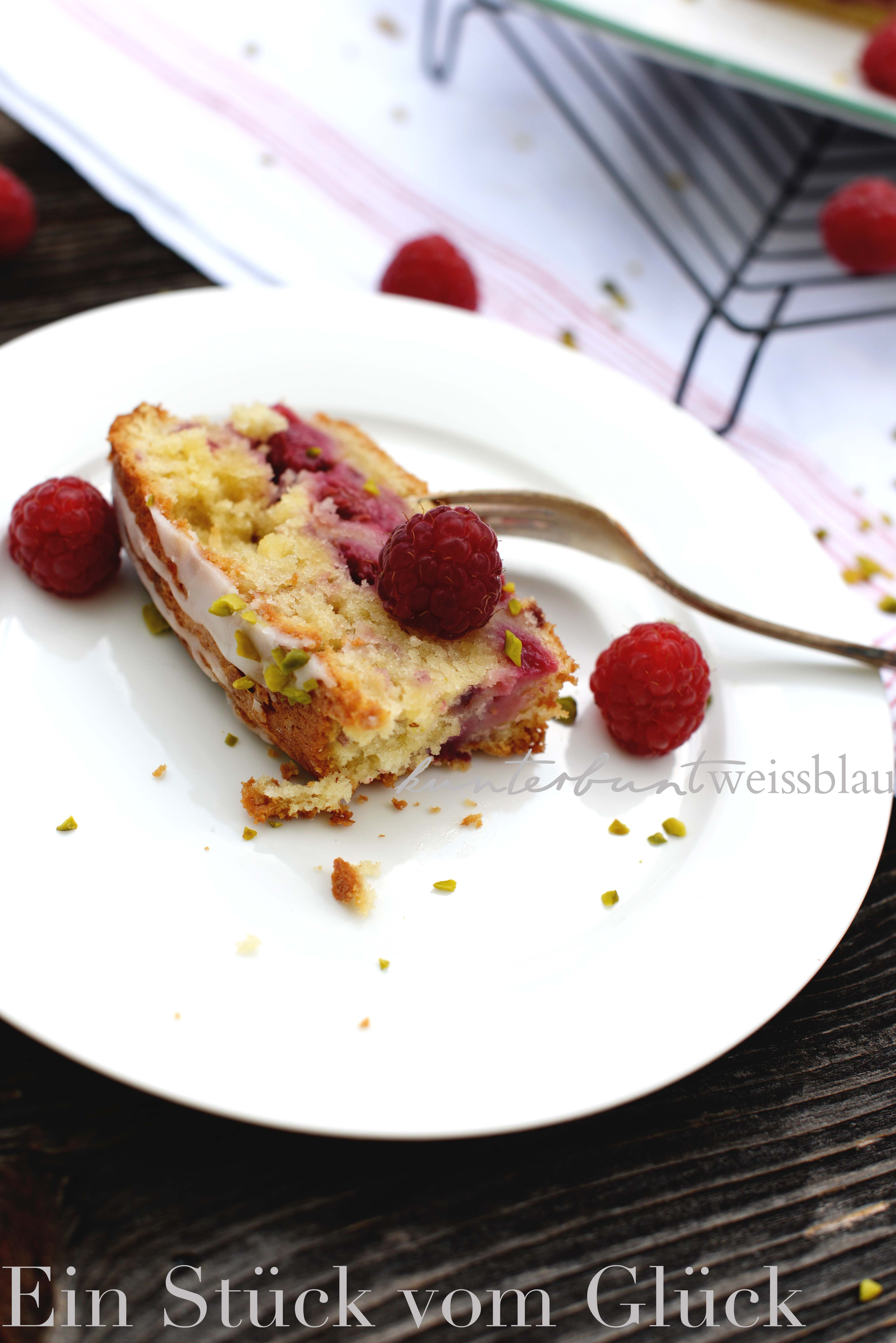 Im Sommerkuchen Himmel Himbeer Creme Fraiche Kuchen