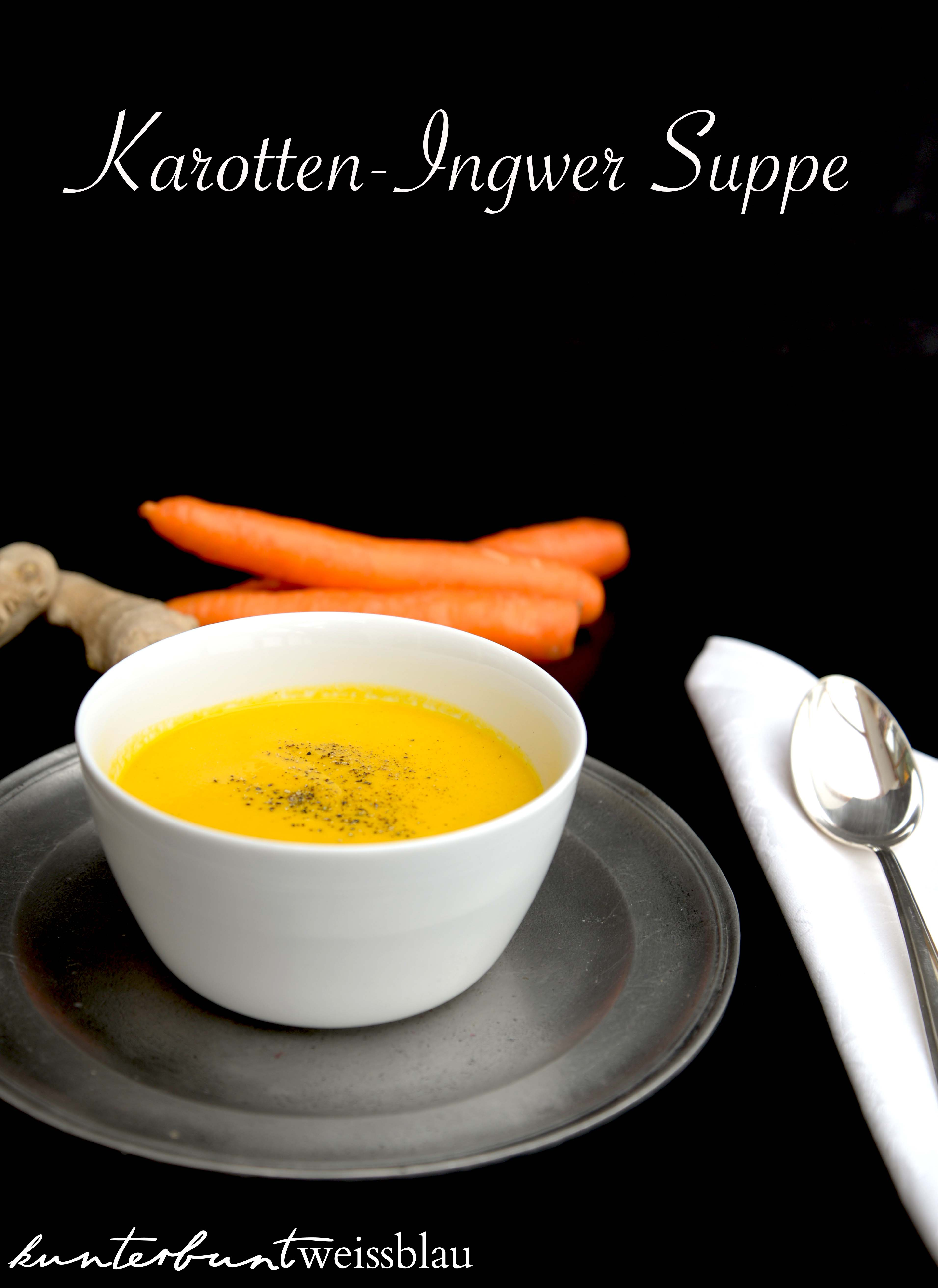 Karotten ingwer suppe thermomix
