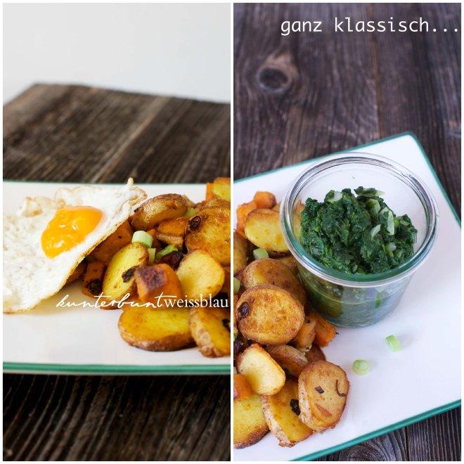 Bratkartoffeln Duo