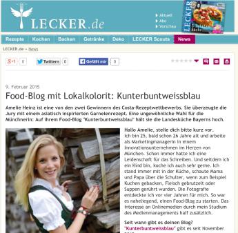 Screenshot Lecker.de