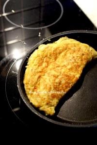 Omelett geklappt