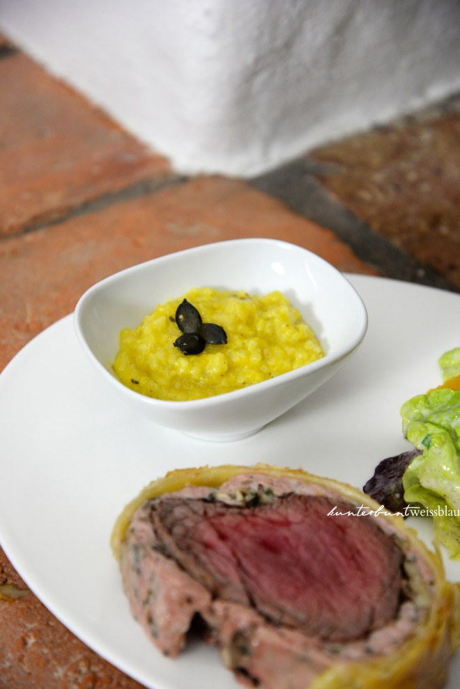 Kürbisrisotto_filet_wellington