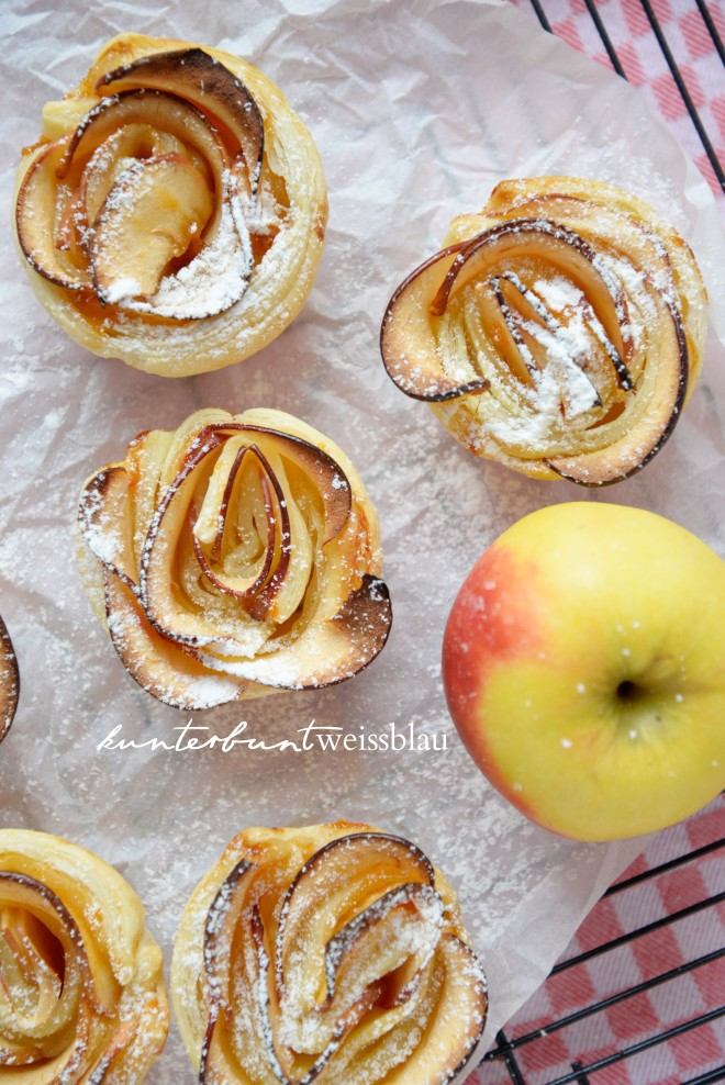 Apfel Rosen