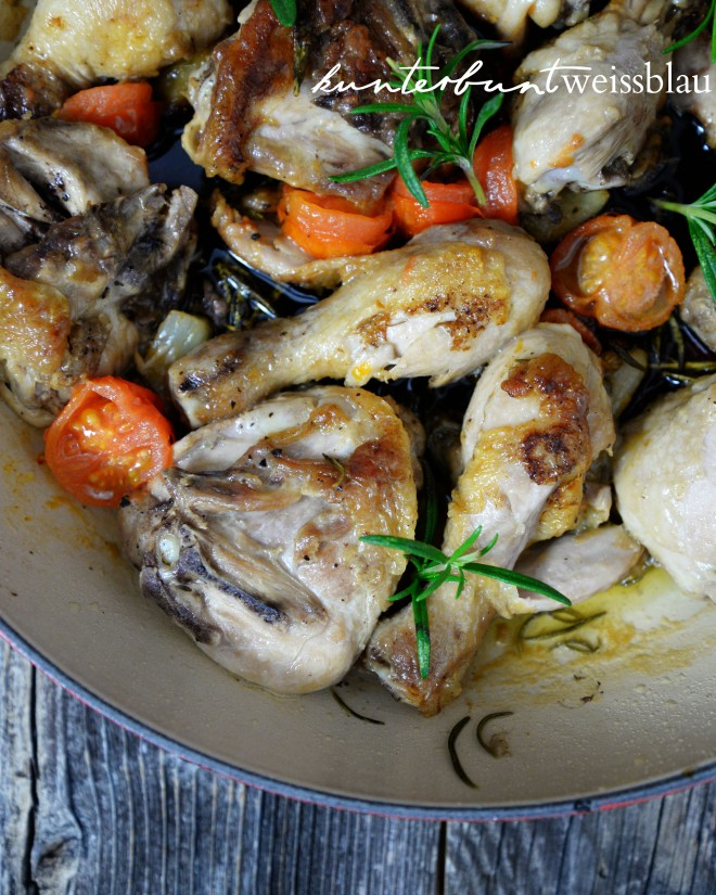 Italienische Hähnchenpfanne