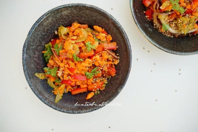 Sesam Karottensalat