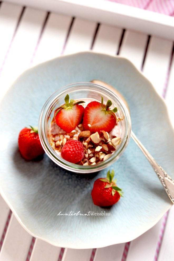 Erdbeer Müsli