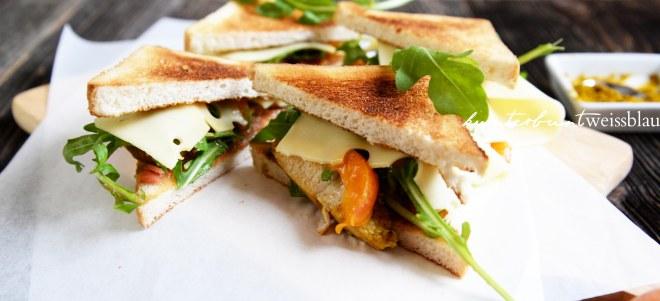 Aprikosen Sandwich