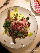 Salat mit Spargel und Bozener Sauce